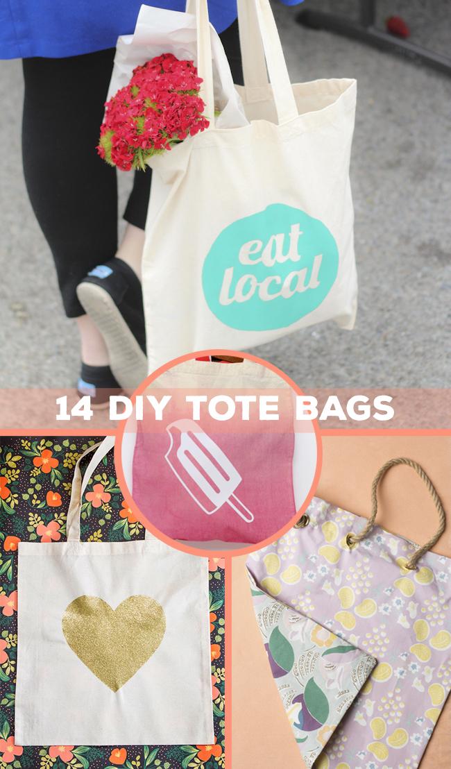 14 DIY Tote Bags