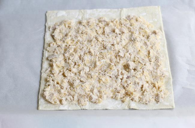 Cheese and Tuna Pinwheels Recipe