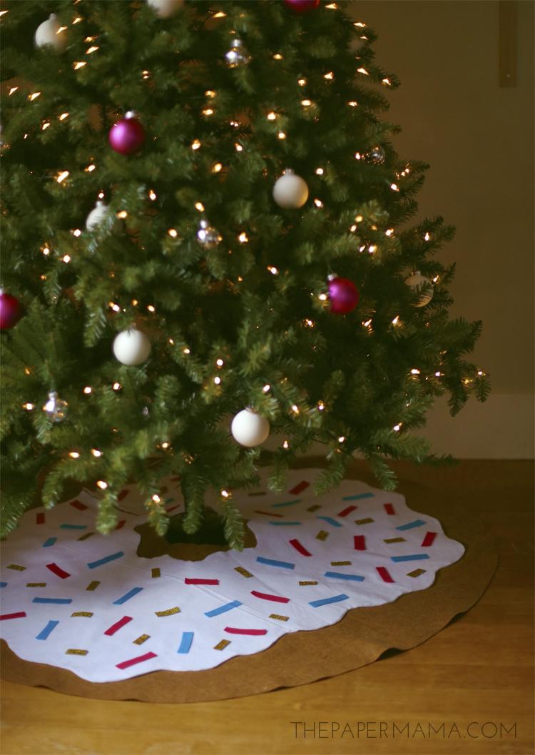 Doughnut Tree Skirt DIY