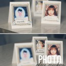 Photo Frame Place Markers Free Printables // thepapermama.com