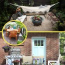 8 DIY Ideas to Transform a Dull Backyard/Patio on the Better Homes and Gardens blog.