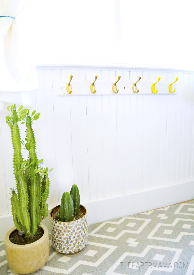 Coat Rack Makeover for $15!