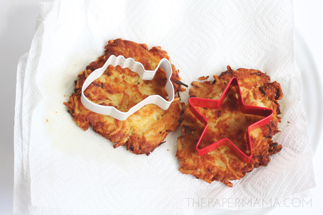 Tuna Fish Latke Recipe