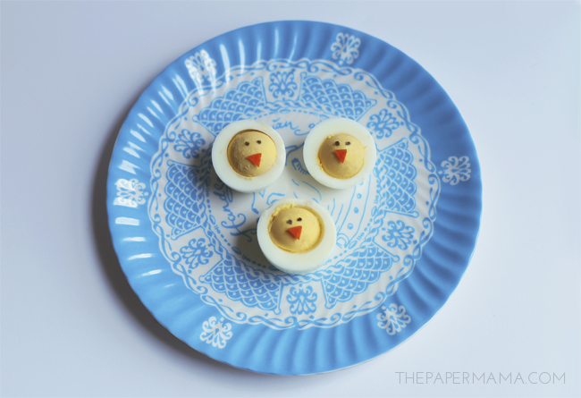 Cute Chick Boiled Egg Snack for the Kids