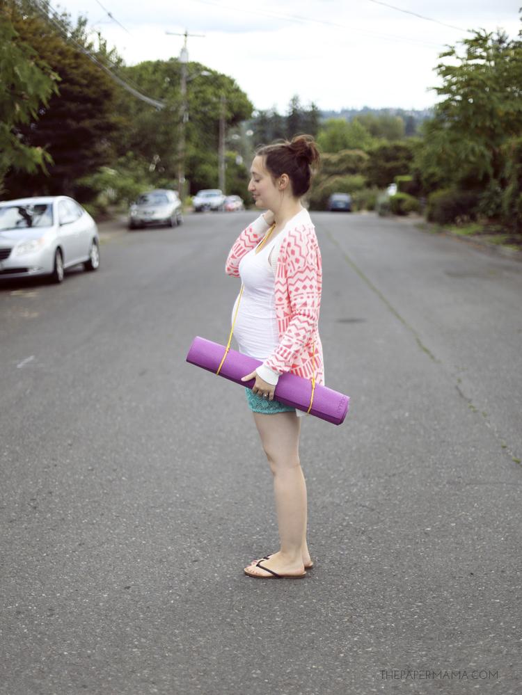 Yoga Mat Strap DIY