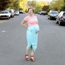 Day 5 Costume: Last Minute Pregnancy Ice Cream Cone Costume