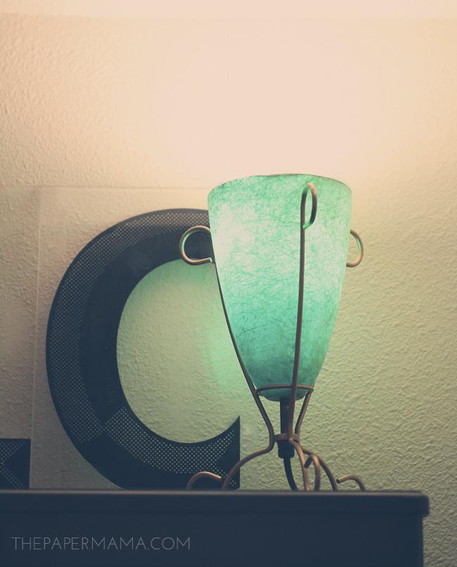Lamp Revamp // thepapermama.com