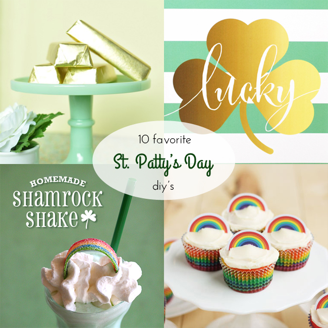 10 Favorite St. Patty's Day DIY's
