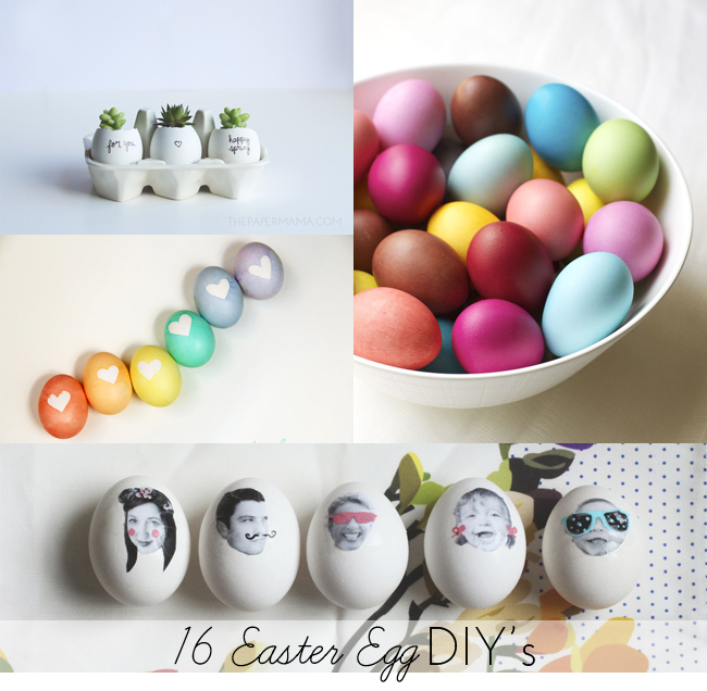 16 Easter Egg DIY's