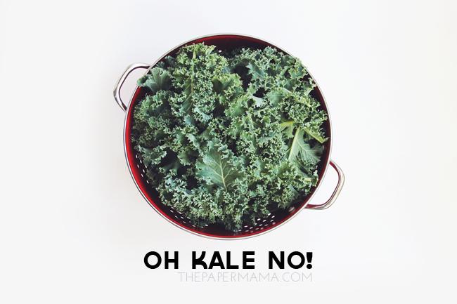 Oh Kale No! // thepapermama.com