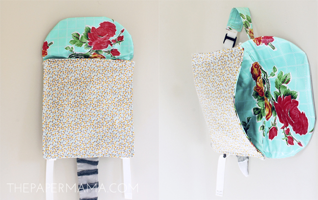 My Little Kitty Backpack // thepapermama.com
