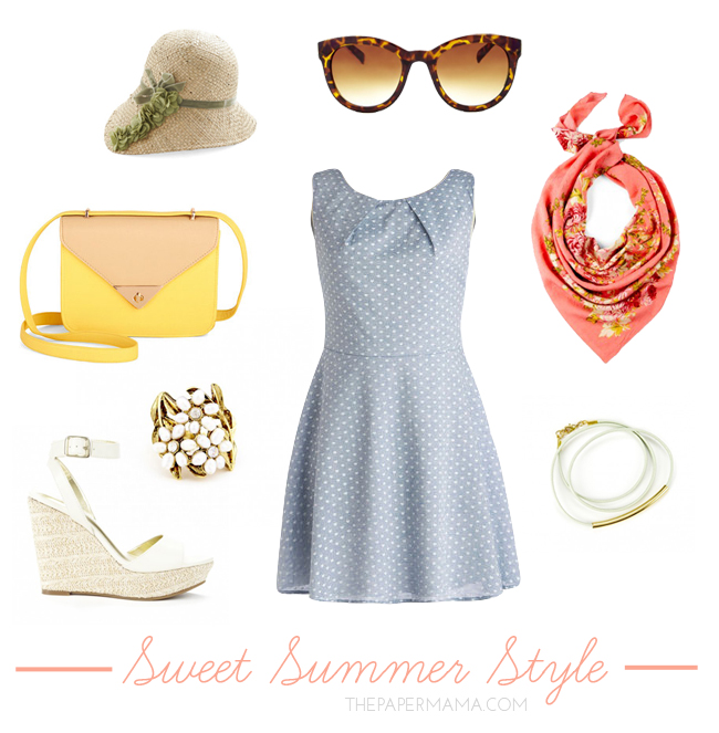 SWEET SUMMER STYLE // THEPAPERMAMA.COM