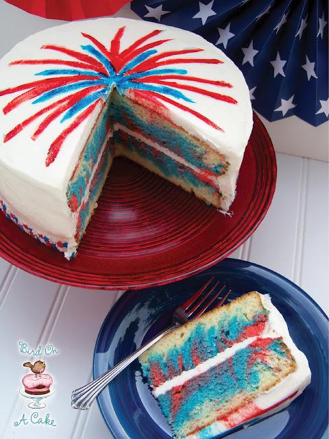 4th of July Fireworks Cake 3 logo