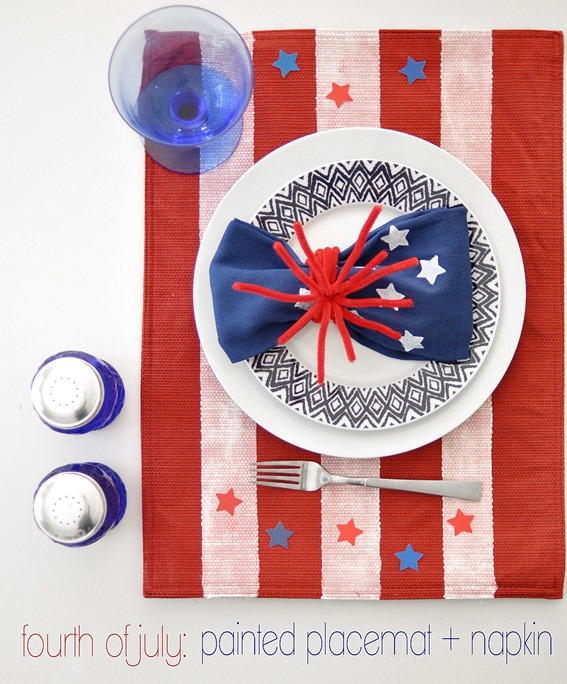 4th-of-july-painted-placemat-and-napkin