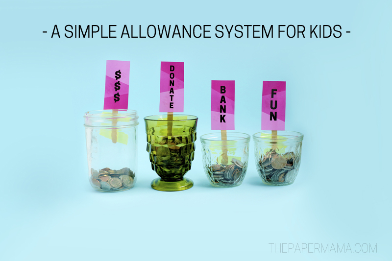 Allowance System for Kids