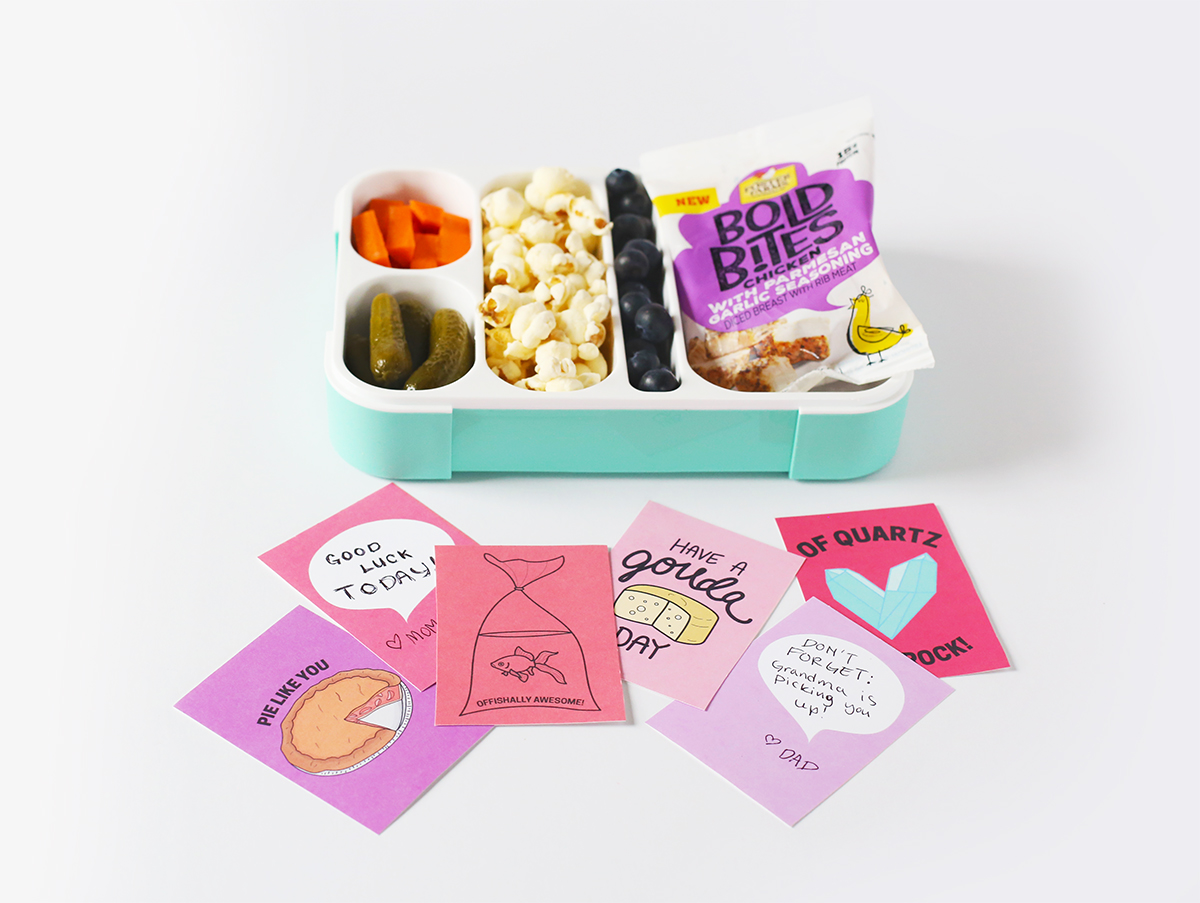 Free Printable Lunch Box Notes for the Kids