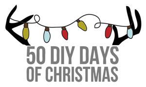 50 Diy Days of Christmas // thepapermama.com