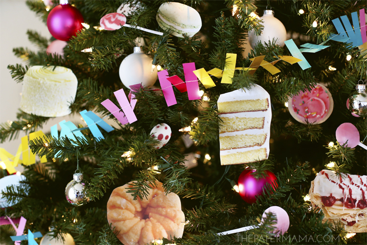 Day 22 Christmas Decor: Sweet Cravings Christmas Tree (with free printables)