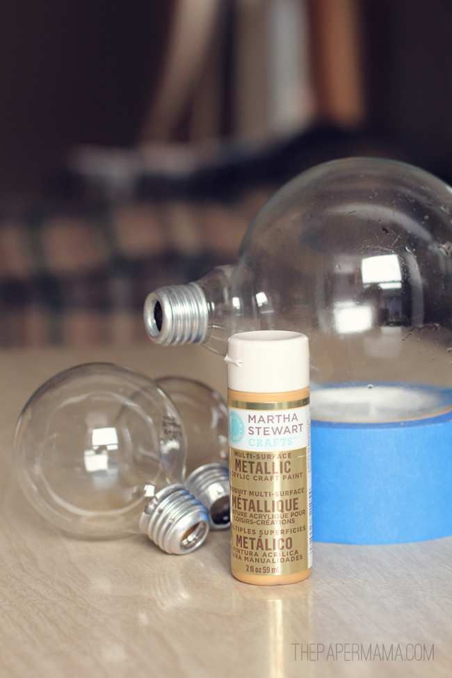 Lightbulb Herb Base // thepapermama.com