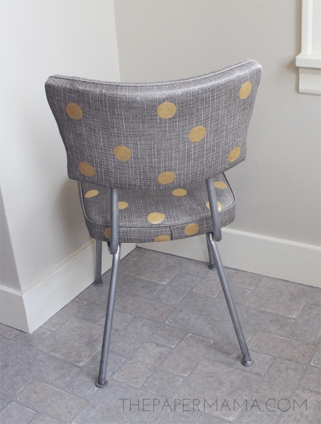Polka Dot Chair // thepapermama.com