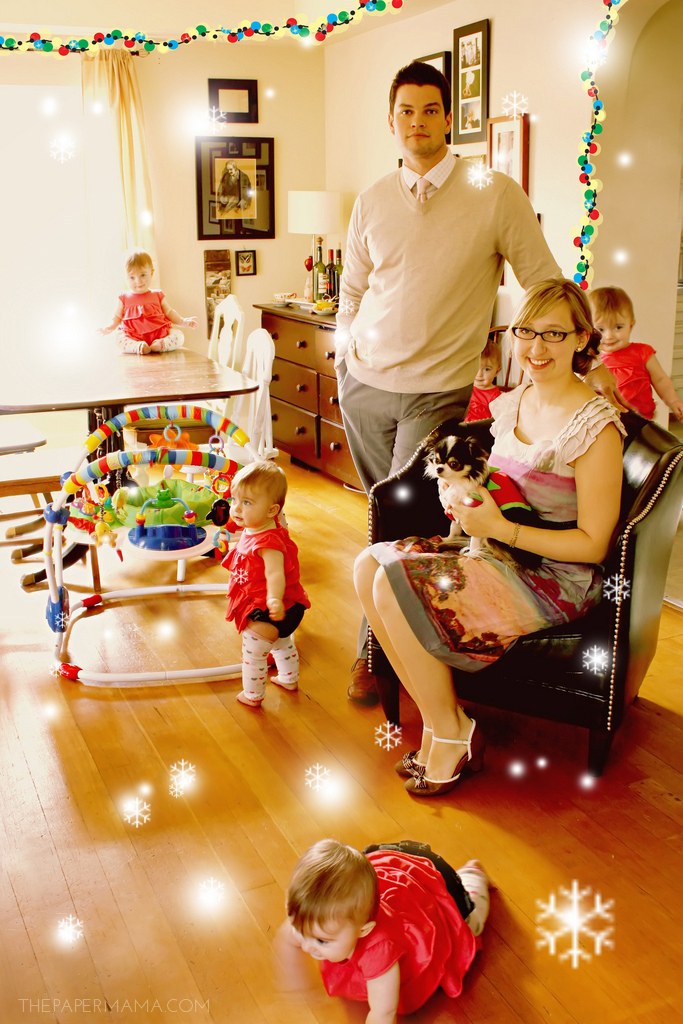 The Paper Mama Christmas Card