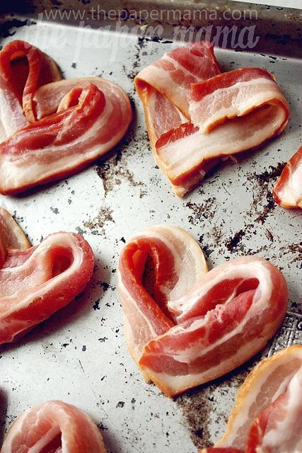Bacon Hearts Recipe and Tips // thepapermama.com