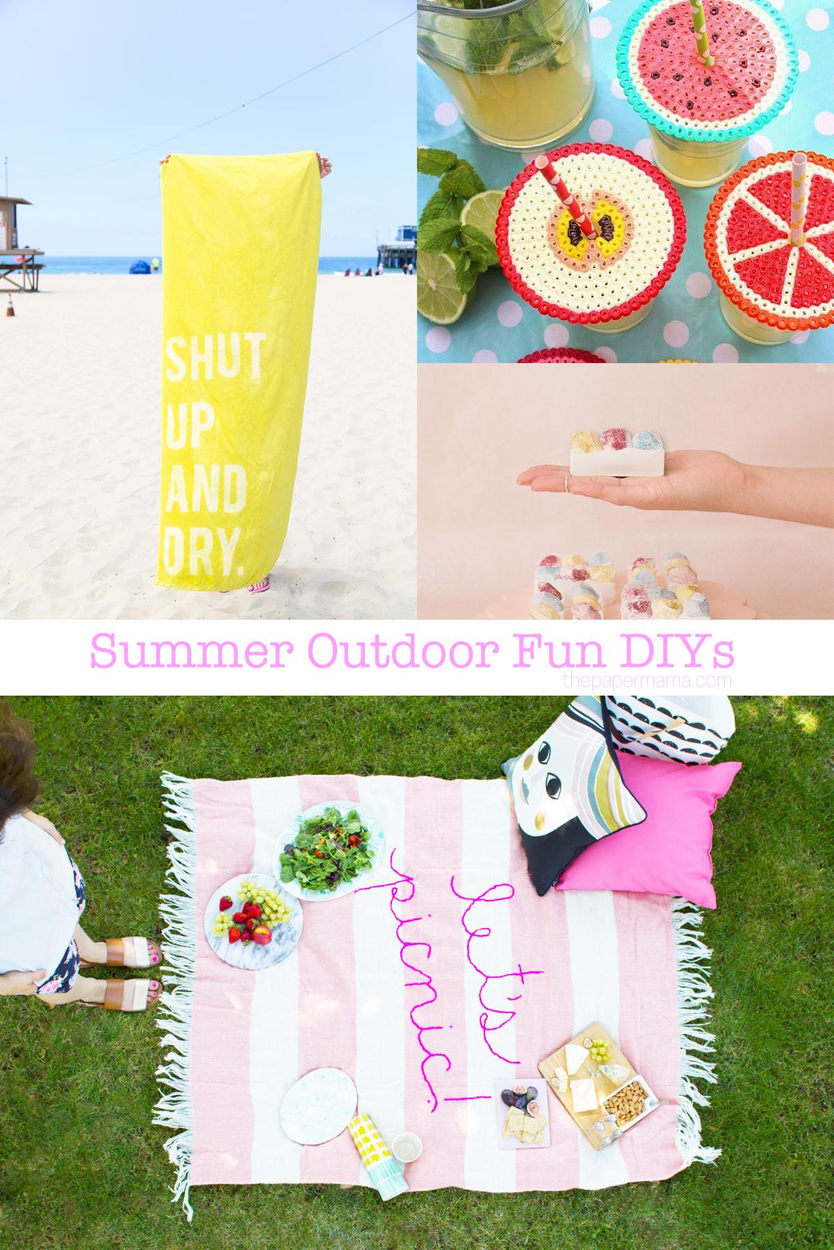 Summer Outdoor Fun DIYs