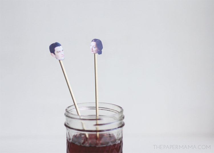 Drink Stirrers and Straws on HP Create