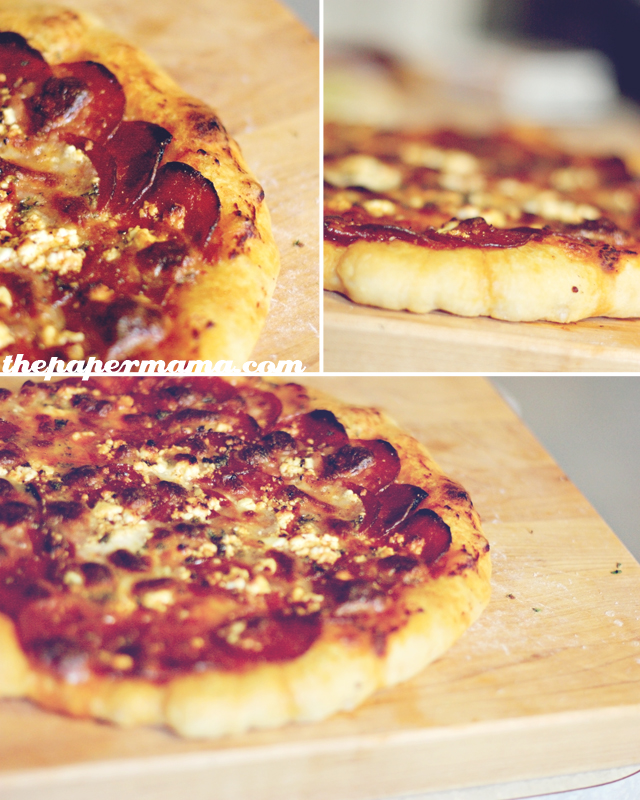 Homemade Pizza Dough and Potato Pizza Recipe