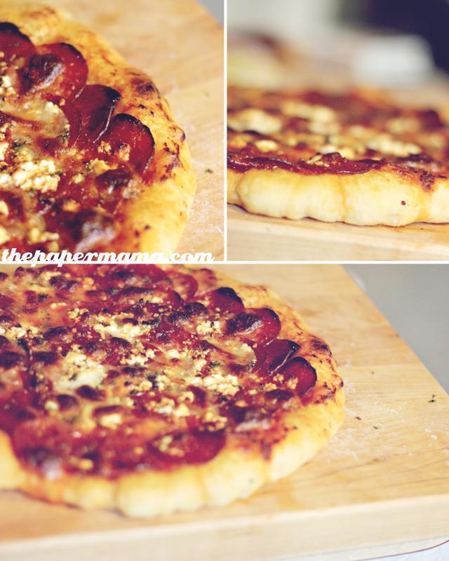 Homemade Pizza Dough and Potato Pizza Recipe