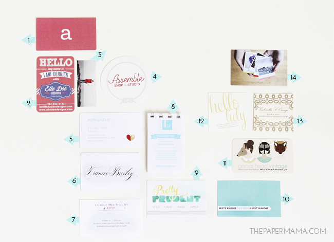 Alt San Francisco Business Cards // thepapermama.com