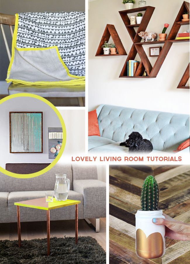 Add Interest To Your Living Room With These Tutorials