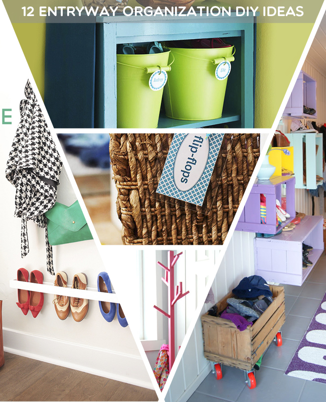 12 Entryway Organization DIY Ideas
