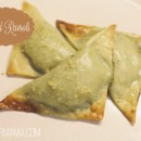 Baked Ravioli with wonton wrappers from thepapermama.com