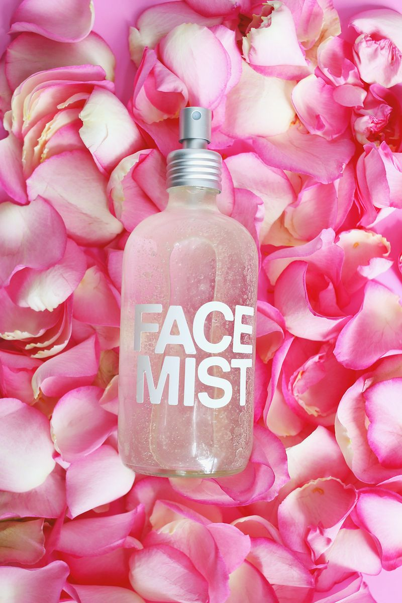 Feel refreshed (and smell great) with this homemade Rose Water Face Mist. Found on A Beautiful Mess blog.