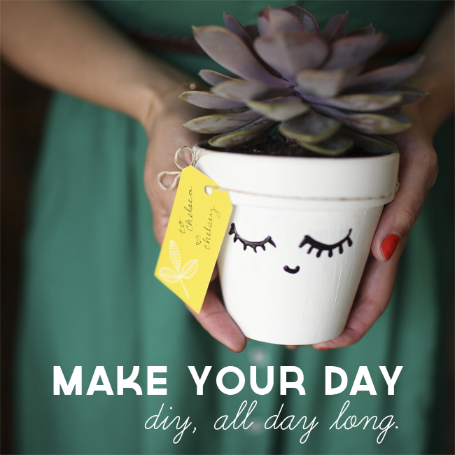 Make Your Day: DIY, all day long // makeyourdaydiy.com