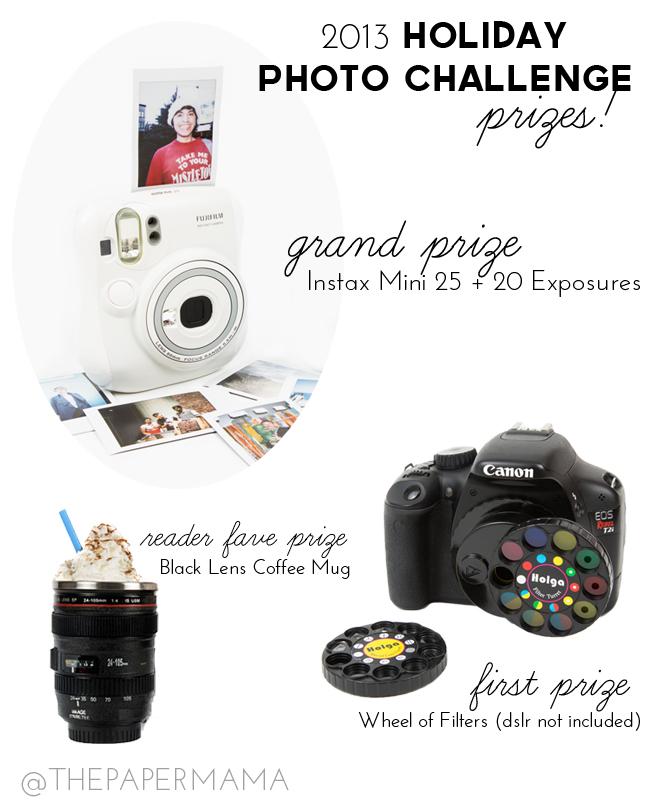 The Paper Mama Holiday Photo Challenge // thepapermama.com
