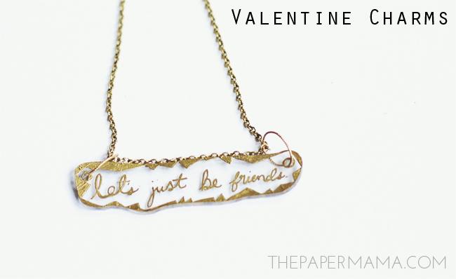Valentine Charm DIY // thepapermama.com