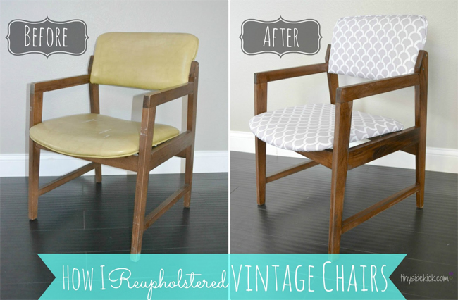 http://thediydreamer.com/diy/reupholstering-vintage-dining-chairs/