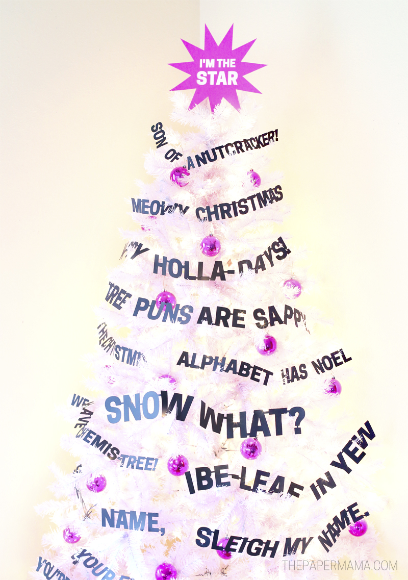 Day 3: Punny Christmas Tree