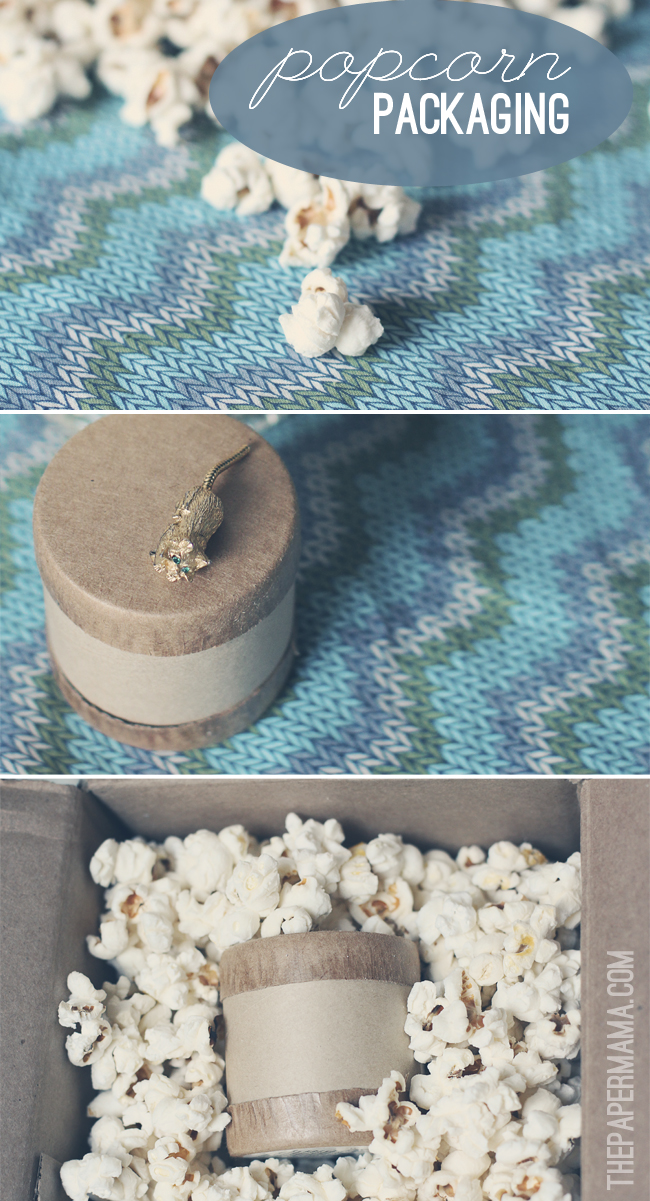 Good Idea - Use Popcorn For Gift Packing
