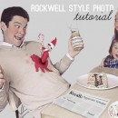 Rockwell Style Photo thepapermama.com