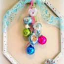Framed Vintage Ornaments