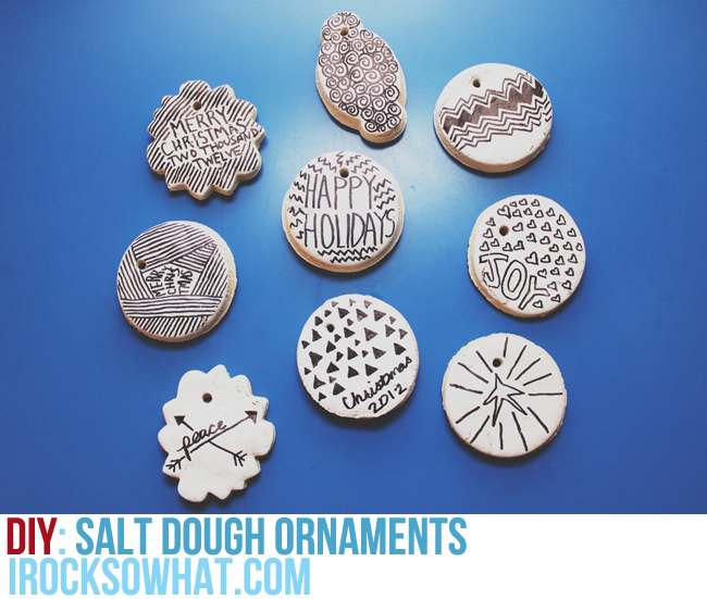 Day 27: Salt Dough Ornaments