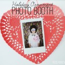 Holiday Ornament Photo Booth thepapermama.com