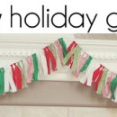No-sew holiday garland