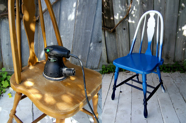 http://www.designsponge.com/2012/04/diy-project-shades-of-blue-ombre-chair.html