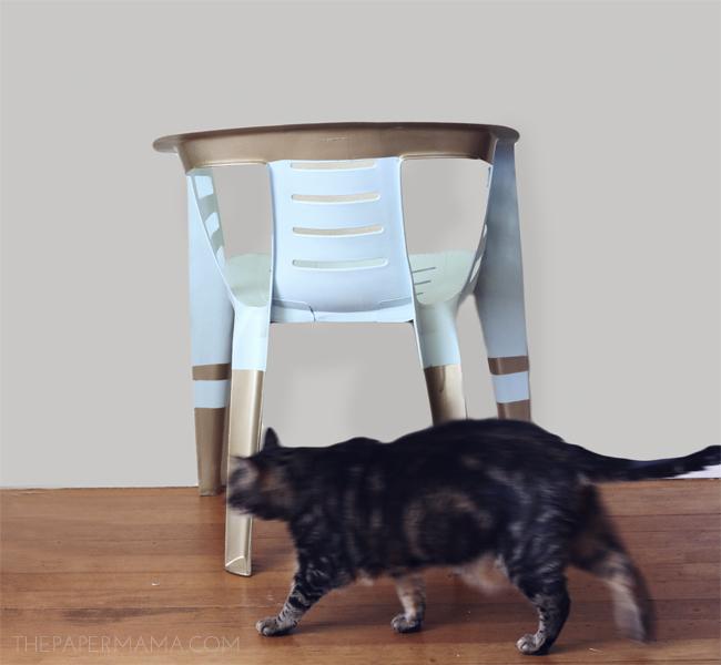 outdoor chair revamp // thepapermama.com