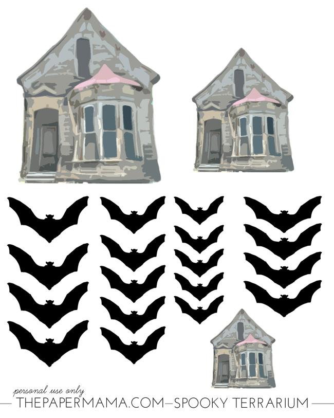 Spooky Halloween Terrarium // thepapermama.com