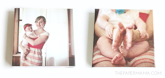 Photo Canvas DIY // thepapermama.com